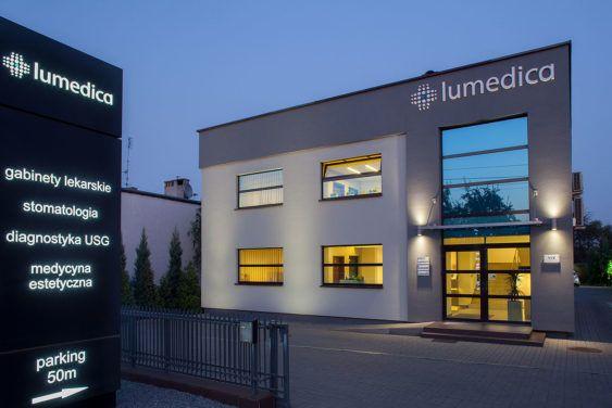 centrum lumedica budynek